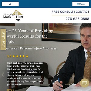 The Law offices of Mark T. Hurt