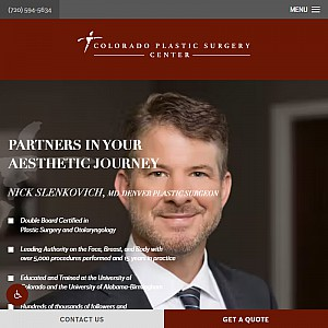 Dr. Nick Slenkovich, Plastic Surgeon Denver