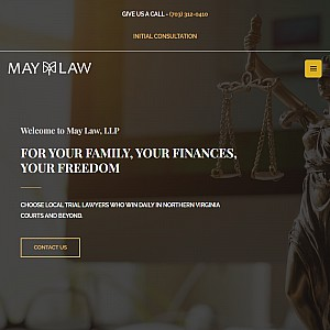 Traffic, criminal, and family law firm in Northern Virginia.