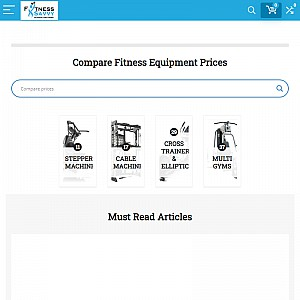 Exercise Equipment, Supplements and Sportswear Price Comparison