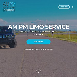 AM PM LIMO & Party Bus Calgary provides Limousine and Party bus service in Calgary and Edmonton