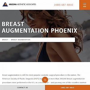 Arizona Aesthetics Associates - Scottsdale Breast Augmentation