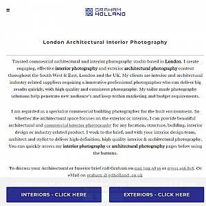 Architecture and Interior Photographer in London
