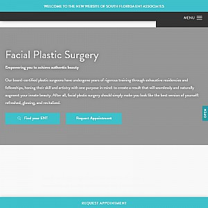 Facial Plastic Surgeons in Miami - South Florida ENTs