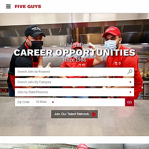Restaurant Jobs with Five Guys