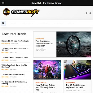 Gamerbolt.com - The Home of Gaming