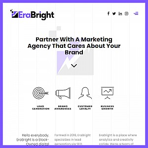EraBright - Black Owned Digital Marketing Agency