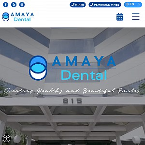 Best Cosmetic Dentist Miami - Amaya Dental