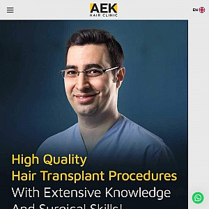 Hair Transplant In Turkey - AEK Hair Clinic