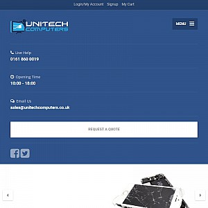 Iphone Repairs | Apple Repairs | Unitech Computers Ltd