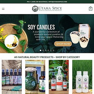 Utama Spice natural aromatherapy products