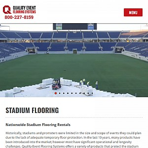 Quality Event Flooring Systems - Temporary Event Flooring