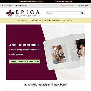 Leather Journals & Albums and more by Epica
