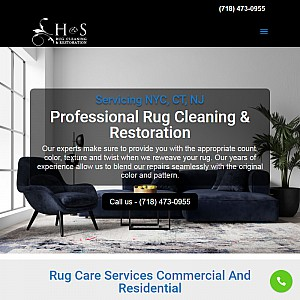 H&S Oriental Rug Cleaning and Repair NYC