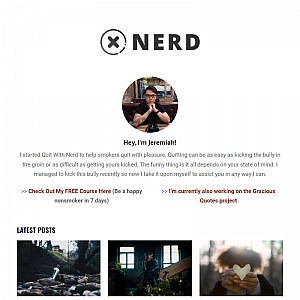Quit With Nerd - A Nerd Guide on How to Quit Smoking Effectively