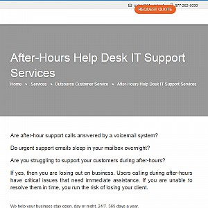 Low Cost After-Hours Call Center Company for SMBs