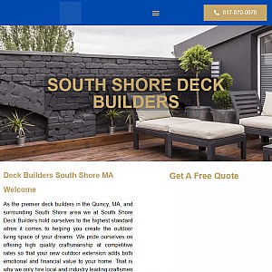 South Shore Deck Builders