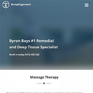 Massage Byron Bay - Bodyalignment