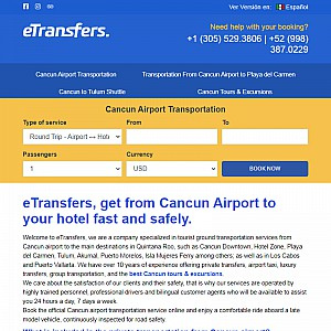 eTransfers - Airport Private Transportation