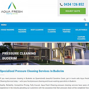 Pressure Cleaning Buderim - Aqua Fresh