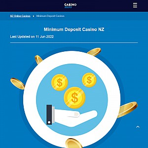 NZ Sites with Lowest Deposit Online Games - CasinoDeps.co.nz