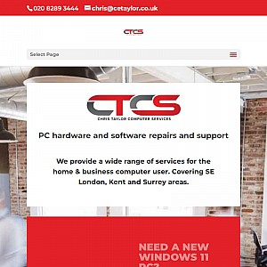 Computer & PC Repairs in Bromley | IT Services - CT Computer Services