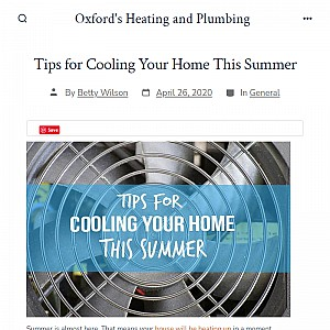 Oxford's Heating and Plumbing