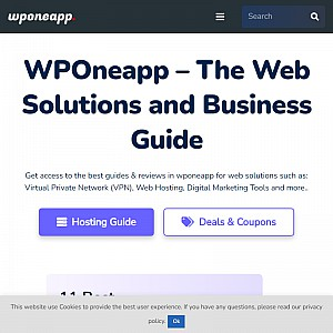 WPOneapp - Web Hosting & Software Solutions