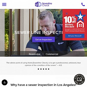 Sewer Inspection Los Angeles - Sewerline Check