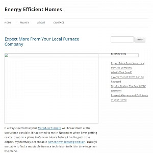 Energy Efficient Homes Blog