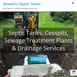 Bennetts Septic Tanks & Sewage Treatment