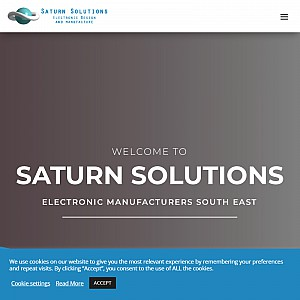 Electronic Design and Manufacturing Services | Saturn Solutions Ltd