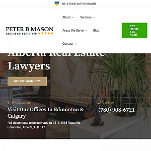 Peter B Mason Real Estate Lawyer Edmonton
