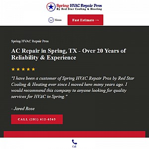 Spring HVAC Repair Pros