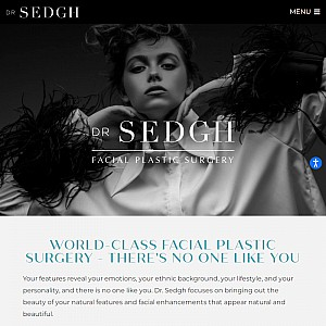 Facial Plastic Surgery - Dr. Jacob Sedgh
