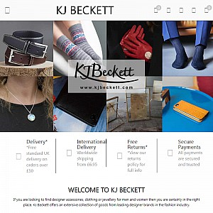 KJ Beckett | Fashion Accessories, Jewellery and Clothing