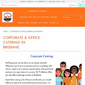 Corporate Catering - Office Catering in Brisbane CBD and close by - order in minutes