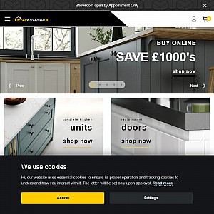 Cheap Kitchen Units and Cabinets for sale online - Kitchen Warehouse