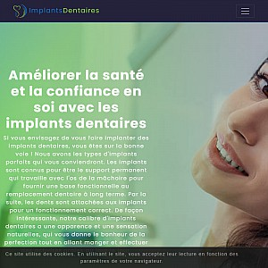 Implants Dentaires France