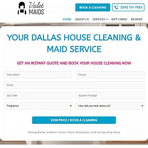 Valet Maids Dallas