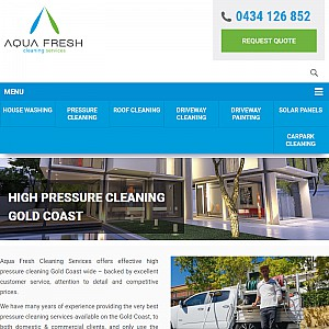 Aqua Fresh Pressure Cleaning Gold Coast