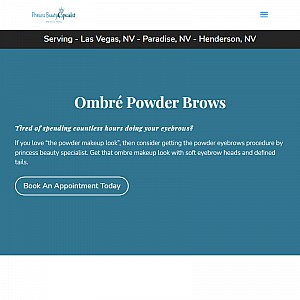 Ombre eyebrows las vegas