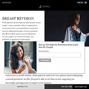 Breast Revision Surgery in Beverly Hills - Dr. Jamie Zampell