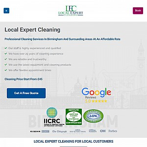 Professional cleaning service in Birmingham and surrounding areas at an affordable rate