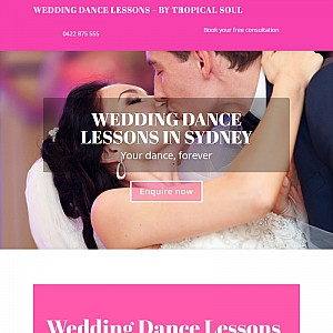 WEDDING DANCE LESSONS IN SYDNEY