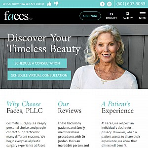Facial Plastic Surgery in Jackson, MS - Faces, PLLC
