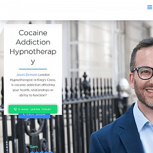 Jason Demant London Hypnotherapy for Cocaine Addiction