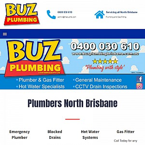 Buz plumbing North Brisbane
