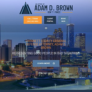 Law Office of Adam D Brown Criminal Defense Attorney