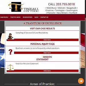 Tindall Law Firm Waterbury CT